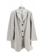 PRISTINE(プリスティン)の古着「ウールコート」|アイボリー