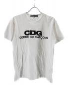 COMME des GARCONS(コムデギャルソン)の古着「CDG LOGO TEE」 ホワイト