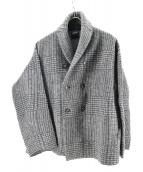 45rpm(45アールピーエム)の古着「ウールコート」|ダークグレー