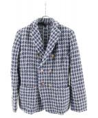 45rpm(45アールピーエム)の古着「ウールジャケット」|ネイビー