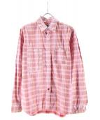 Engineered Garments(エンジニアードガーメン)の古着「シャツ」 ピンク