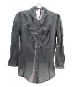 UNDERCOVER(アンダーカバ−)の古着「デザインシャツ」 グレー