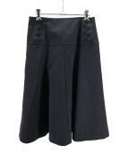 tricot COMME des GARCONS(トリコ コムデギャルソン)の古着「ミディスカート」|ブラック