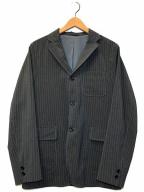 BEAMS PLUS(ビームスプラス)の古着「ストライプトラベルジャケット」|グレー