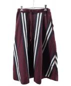 45R(フォーティファイブアール)の古着「ウールスカート」|ボルドー