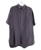 YANTOR(ヤントル)の古着「プルオーバーシャツ」|ネイビー
