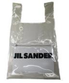 JIL SANDER(ジルサンダー)の古着「MARKET BAG MD W/POCKET」 ホワイト