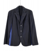 ISSEY MIYAKE MEN(イッセイミヤケメン)の古着「3Bテーラードジャケット」 ブラウン×ブルー