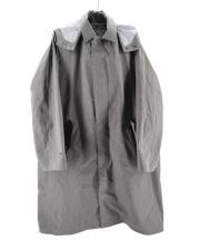 DESCENTE(デサント)の古着「LINER SOUTIEN COLLAR COAT」|グレー