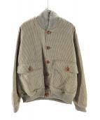ETRO(エトロ)の古着「ガンクラブチェックジャケット」|カーキ