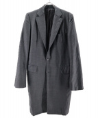 COMME des GARCONS HOMME(コムデギャルソンオム)の古着「オーバーコート」 グレー