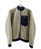 Patagonia(パタゴニア)の古着「レトロⅹ・ボマー・ジャケット」|アイボリー