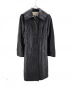 Sybilla(シビラ)の古着「ラムレザーコート」 ブラック