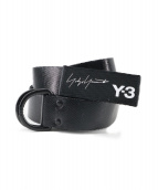 Y-3(ワイスリー)の古着「HOOK BELT」|ブラック