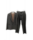 BASISBROEK(バージスブルック)の古着「セットアップスーツ」|ブラウン