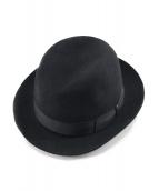 BORSALINO(ボルサリーノ)の古着「ラビットファーハット」|ブラック