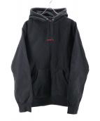 Supreme(シュプリーム)の古着「Trademark Hooded Sweatshirt」|ブラック