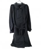 hysterics(ヒステリックス)の古着「ナイロンロングコート」|ブラック