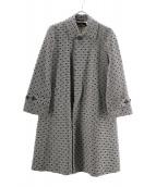 tricot COMME des GARCONS(トリコ コム デ ギャルソン)の古着「ステンカラーコート」|ブラック