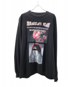 BORN X RAISED(ボーン レイズド)の古着「カットソー」|ブラック