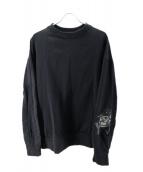 Y-3(ワイスリ)の古着「Skull Sweater」|ブラック