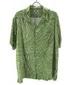 CRIMIE(クライミ)の古着「レーヨンシャツ」|グリーン