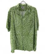 CRIMIE(クライミー)の古着「レーヨンシャツ」 グリーン