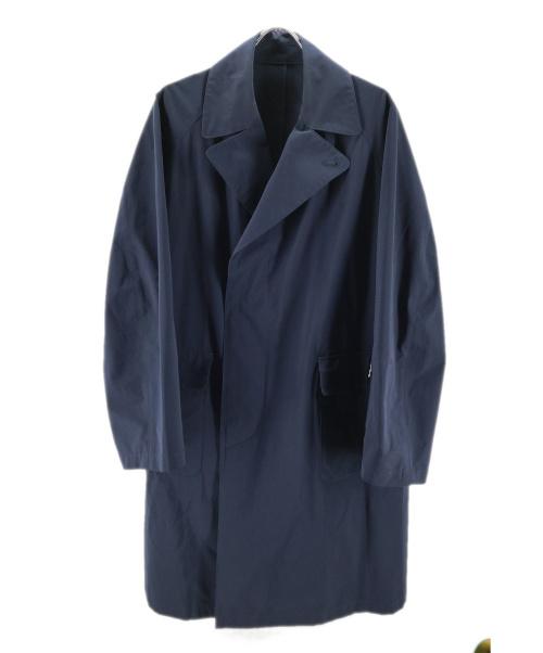 SOPH.(ソフ)SOPH. (ソフ) SOUTIEN COLLAR COAT ネイビー サイズ:Lの古着・服飾アイテム