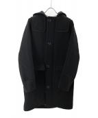 LACOSTE(ラコステ)の古着「フーデッドコート」|ブラック