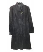 SAGA MINK ROYAL(サガミンクロイヤル)の古着「ミンクファーコート」|ブラック