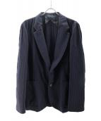 ()の古着「デザインジャケット」|ネイビー