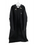 DROLE DE MONSIEUR(ドロール ド ムッシュ)の古着「フーデッドロングコート」|ブラック