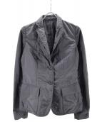 JIL SANDER(ジルサンダー)の古着「ナイロンテーラードジャケット」|ネイビー