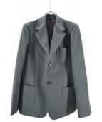GOLDEN GOOSE DELUXE BRAND(ゴールデングースデラックスブランド)の古着「ツイルジャケット」|グリーン