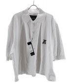 ANREALAGE(アンリアエイジ)の古着「ポロシャツ」|ホワイト