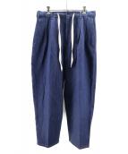 yotsuba(ヨツバ)の古着「Denim Wide Pants」|インディゴ