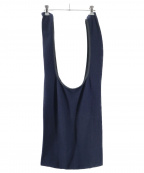 yashiki(ヤシキ)の古着「Knit Marche Bag」|ネイビー