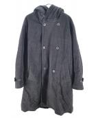 bukht(ブフト)の古着「ディタッチャブルフーデットコート」|グレー