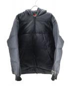 GOOD ENOUGH(グッドイナフ)の古着「プルオーバーダウンジャケット」|ブラック