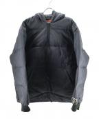 GOOD ENOUGH(グッドイナフ)の古着「プルオーバーダウンジャケット」 ブラック