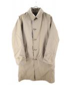 BEAUTY&YOUTH(ビューティーアンドユース)の古着「BYリバーシブルバルカラーコート」|ベージュ×ブラウン