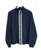 Supreme(シュプリーム)の古着「クラシックロゴテーピングトラックジャケット」|ネイビー