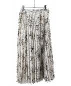 allureville(アルアバイル)の古着「ドットフラワープリーツスカート」