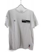 MONCLER×FRAGMENT(モンクレール×フラグメント)の古着「ベルクロロゴパッチTシャツ」|ホワイト