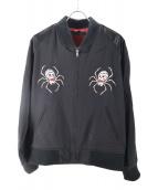 BACK BONE(バックボーン)の古着「スパイダースーベニアジャケット」|ブラック