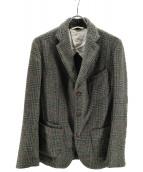 45R(フォーティファイブアール)の古着「ムーンツイードジャケット」|カーキ