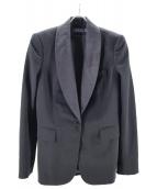 POLO RALPH LAUREN(ポロラルフローレン)の古着「スモーキングジャケット」|ブラック