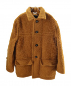 CMMN SWDN(コモン スウェーデン)の古着「ピリング加工オーバーサイズコート」|ブラウン