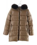 DUVETICA(デュベティカ)の古着「KAPPA ダウンコート」 ブラウン
