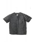 NANGA(ナンガ)の古着「半袖ダウンTシャツ」|ブラック